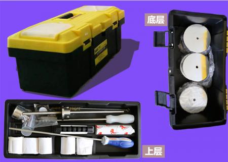 配合套砝码以及工具箱配备工具齐全