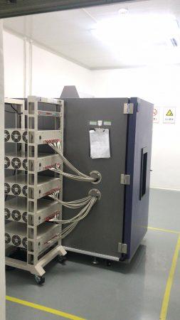 高低温试验箱在运行中